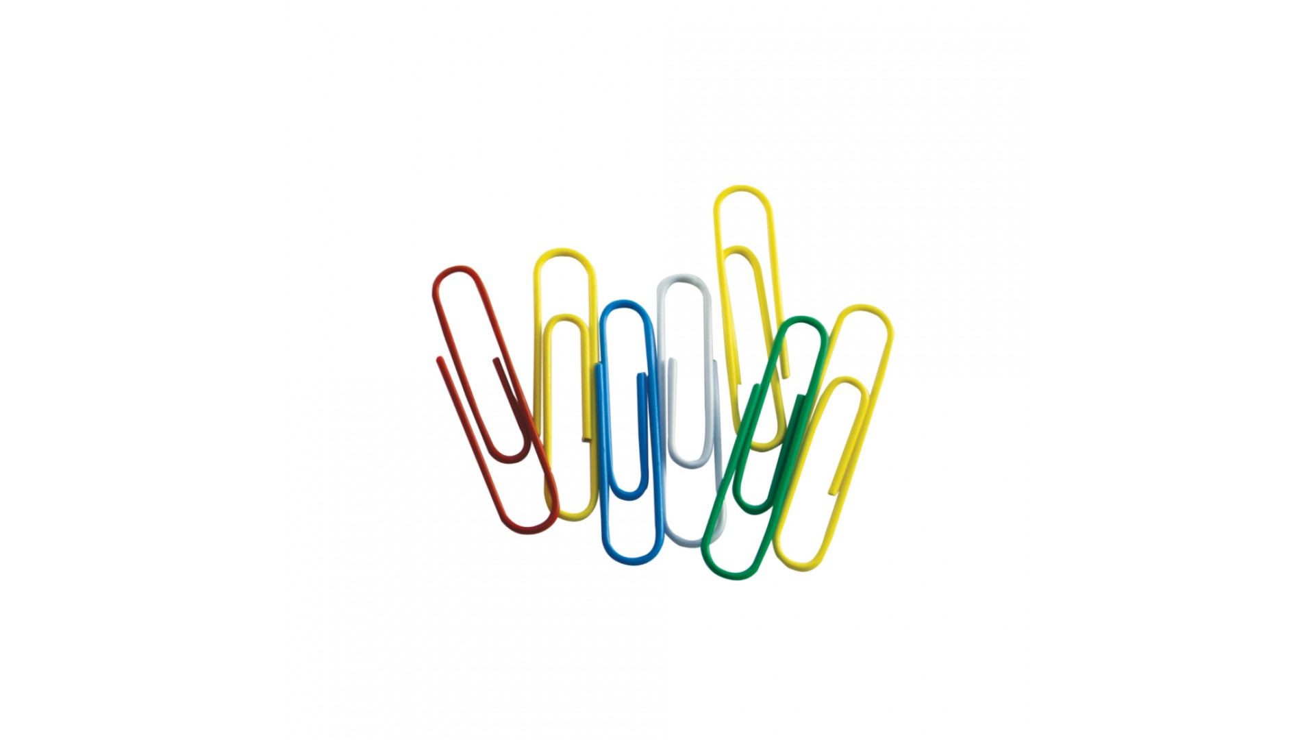 Agrafe Memoris-Precious, 25 mm, colorate, 100 bucati/cutie