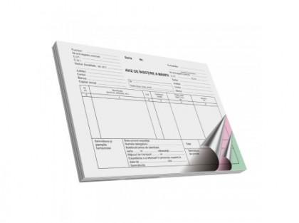 Aviz de insotire a marfii, autocopiativ, A5, 50 file, 3 exemplare, 3 bucati/set