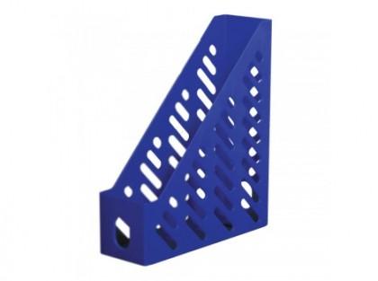 Suport basic pentru documente Flaro Lux, plastic, albastru