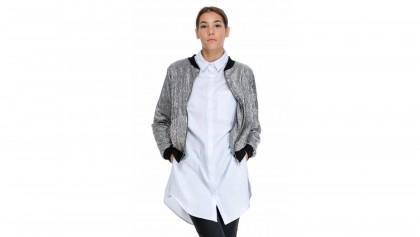 Bluza Outwear 1 - Argintiu