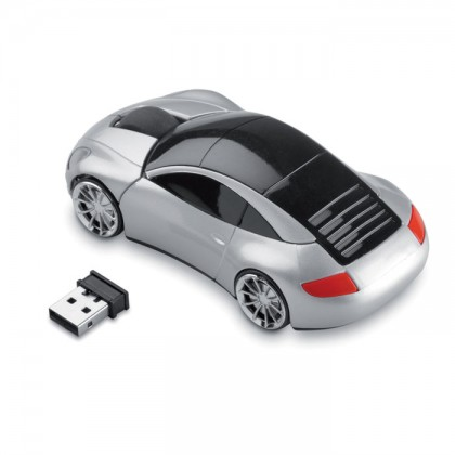 Mouse fără fir în formă mașină