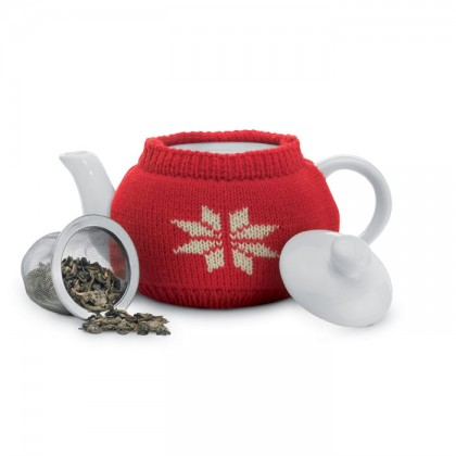 Ceainic cu husă din jersey