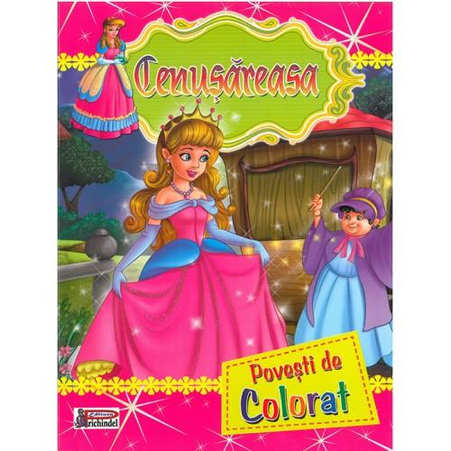 CENUȘĂREASA - Povești de colorat