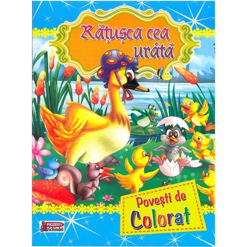 RĂŢUŞCA CEA URÂTĂ - Povești de colorat