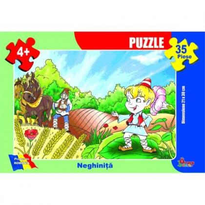 Puzzle - Neghiniţă - 35 piese
