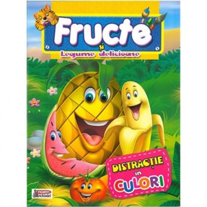 Fructe și Legume delicioase - Distracție în culori