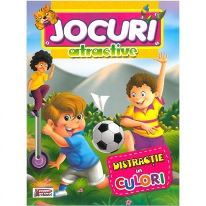 Jocuri atractive - Distracție în culori