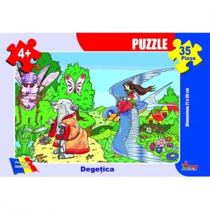 Puzzle - Degeţica 35 piese