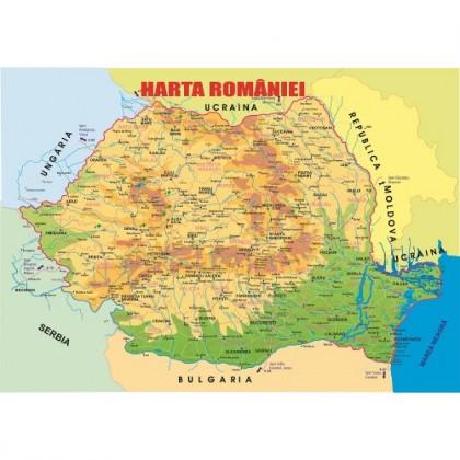 Planşa A3 - Harta României