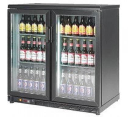 Dulap frigorific cu 2 usi din sticla