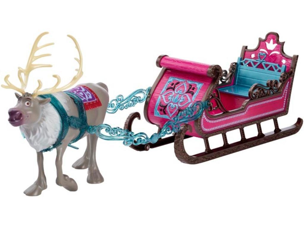 Frozen, Set cadoua Sven & Sleigh 48 cm
