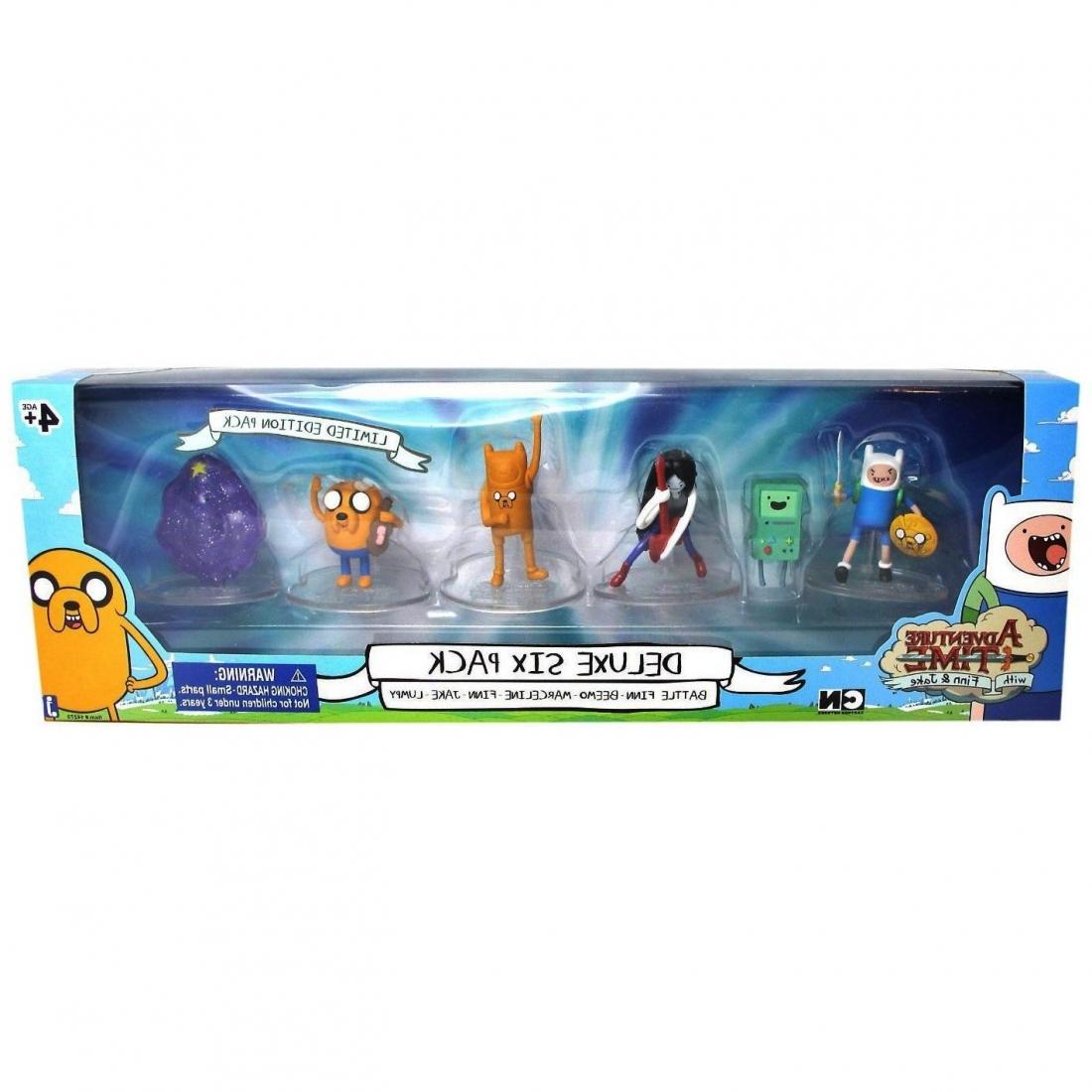 Set 6 figurine Adventure Time
