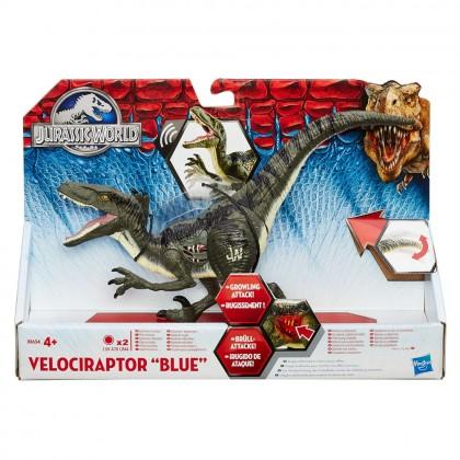 Jurassic World, Velociraptor 'Blue' 20 cm cu sunete