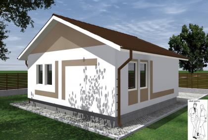 Proiecte case structura metalica