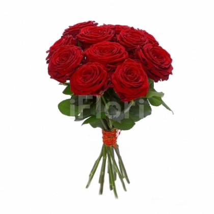 Buchet 15 trandafiri grena