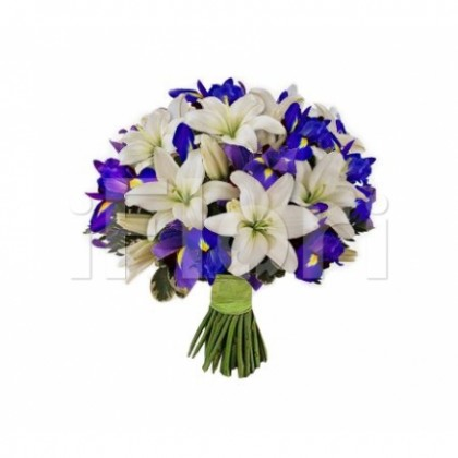 Buchet crin iris