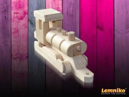 Locomotiva din lemn