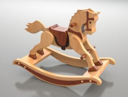 Calut din lemn