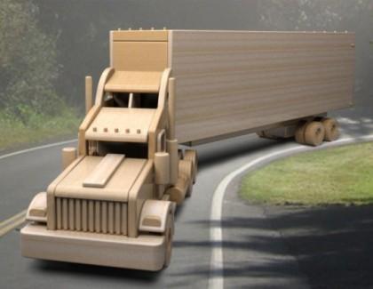 Trailer din lemn