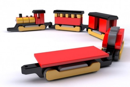 Trenuleț din lemn