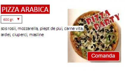 Pizza Arabica