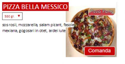 Pizza Bella Messico
