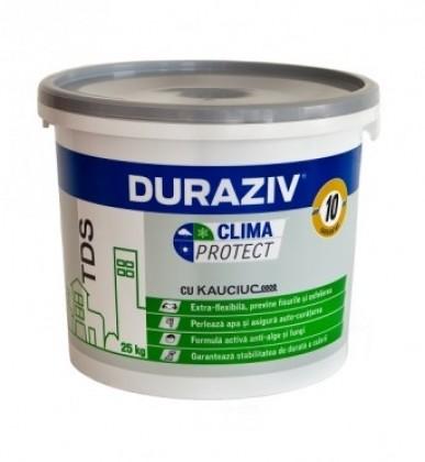 Tencuiala decorativa Clima Protect Duraziv cu CAUCIUC