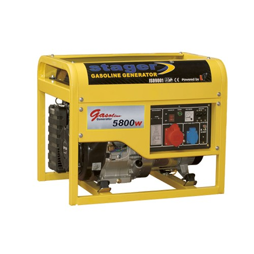 Generator de curent trifazat Stager GG 7500-3 E+B