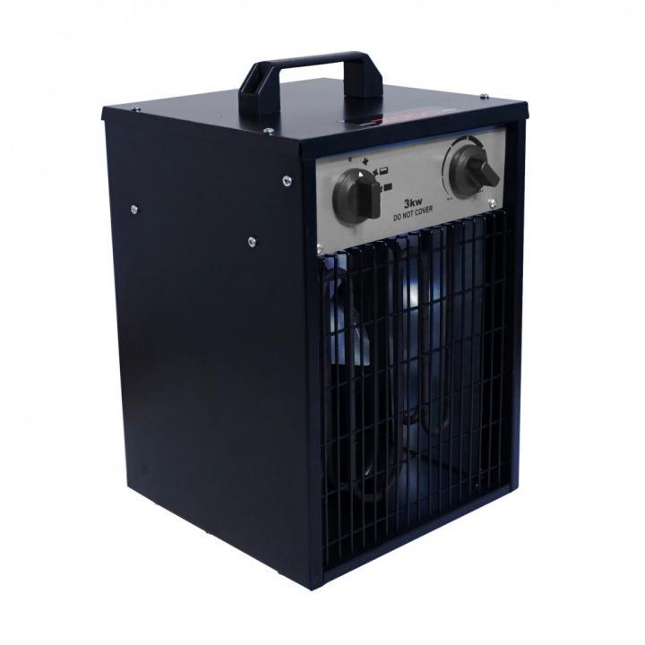 Aeroterma electrica Zobo ZB-EF3, 230 V, 3 kW, 476 m3/h