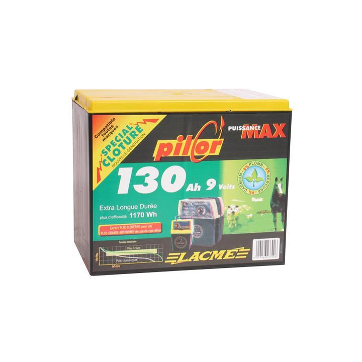 Baterie pentru gard electric Lacme Pilor 9 V, 130 Ah