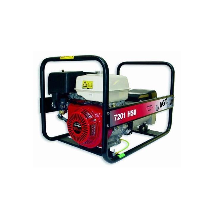 Generator de curent monofazat AGT 7201 HSB, 6 kVA, benzina