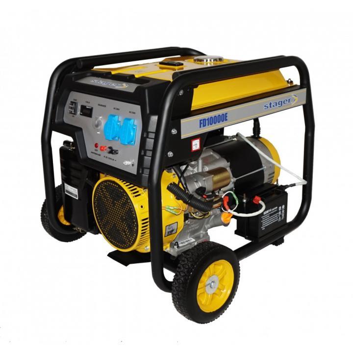Generator de curent monofazat Stager FD 10000E