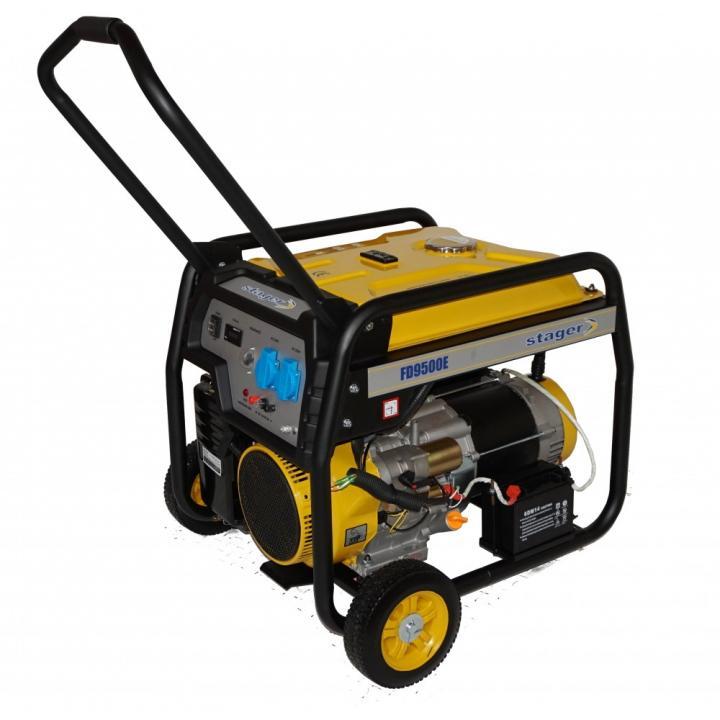 Generator de curent monofazat Stager FD 9500E