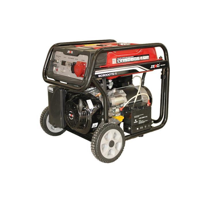 Generator de curent trifazat Senci SC-8000TE