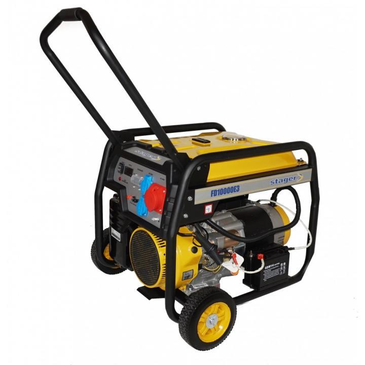 Generator de curent trifazat Stager FD 10000E3