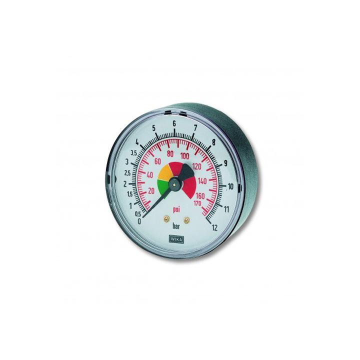 "Manometru posterior D40 mm, 1/8"", 0-12 bar"