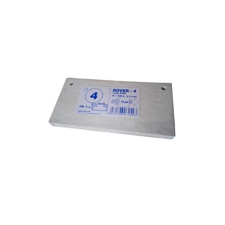 Placi filtrante 20x10 cm - Rover 4, 10 m (set 5 buc)