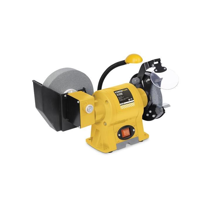 Polizor de banc Power Plus POWX1250, 350 W, 150/200 mm