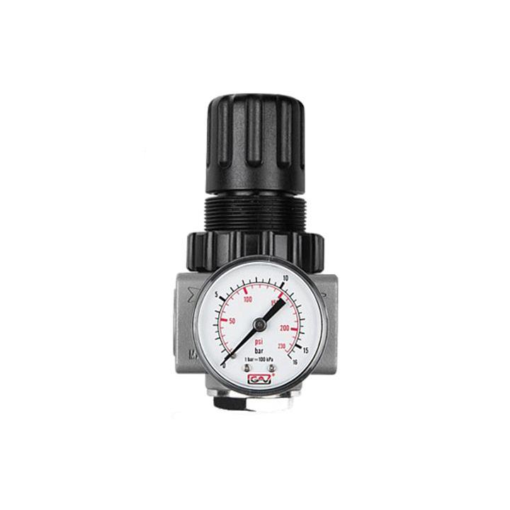 "Regulator de presiune cu manometru GAV R 300, 1"", 0-12 bar"
