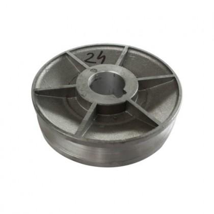 Fulie pentru motoare electrice 1 canal, ax 24 mm