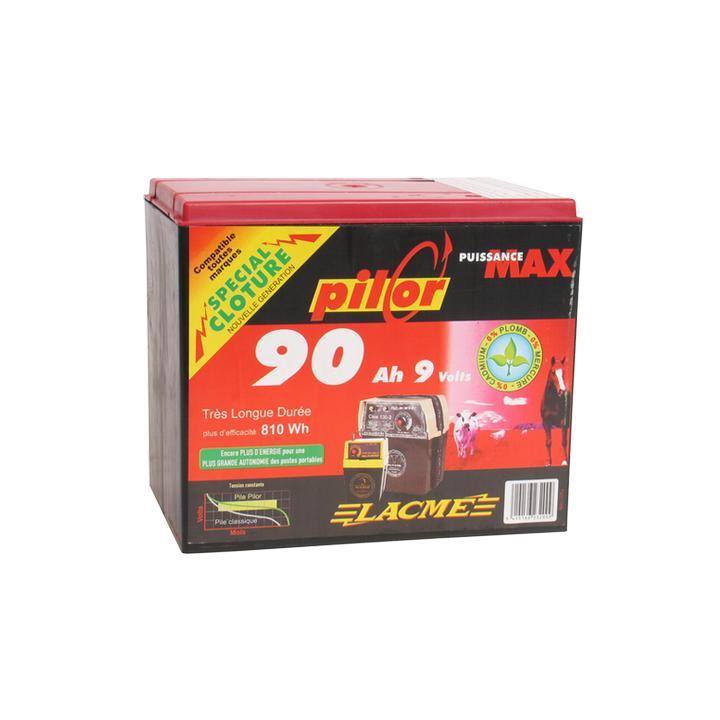 Baterie pentru gard electric Lacme Pilor 9 V, 90 Ah