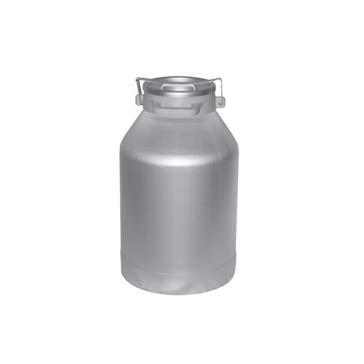 Bidon de transport din aluminiu cu capac 40 litri, D217