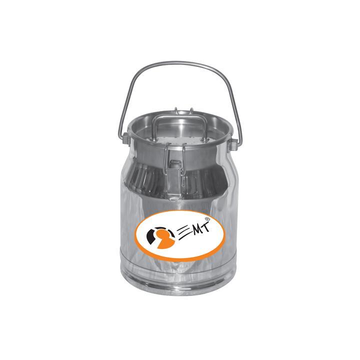 Bidon de transport din inox cu capac 10 litri, D180