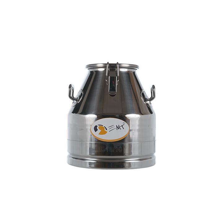 Bidon de transport din inox cu capac 20 litri, D180