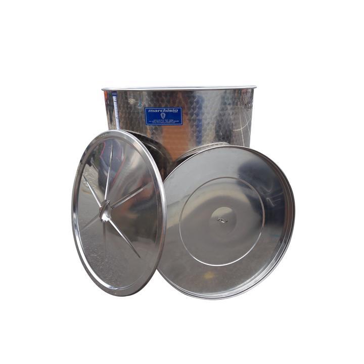 Cisterna din inox cu capac SPO1000, 1000 litri