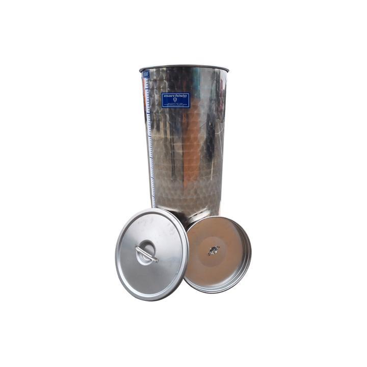 Cisterna din inox cu capac SPO100A, 100 litri