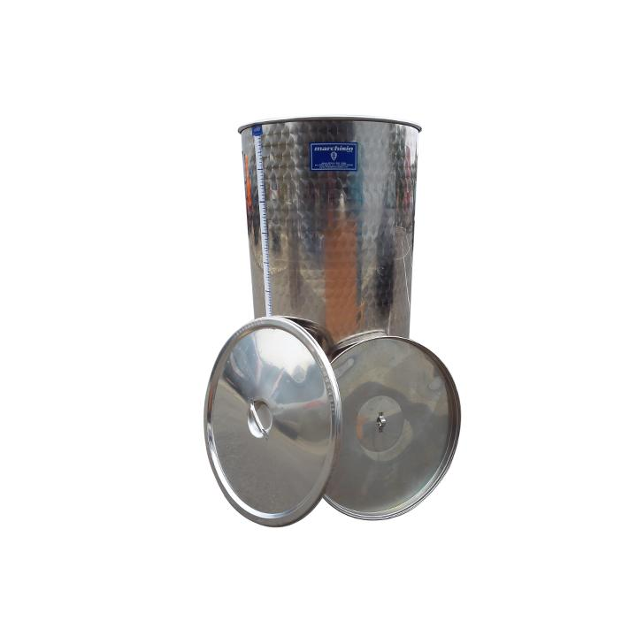 Cisterna din inox cu capac SPO400A, 400 litri