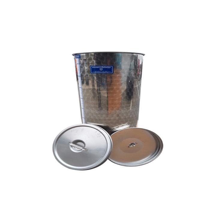 Cisterna din inox cu capac SPO50, 50 litri