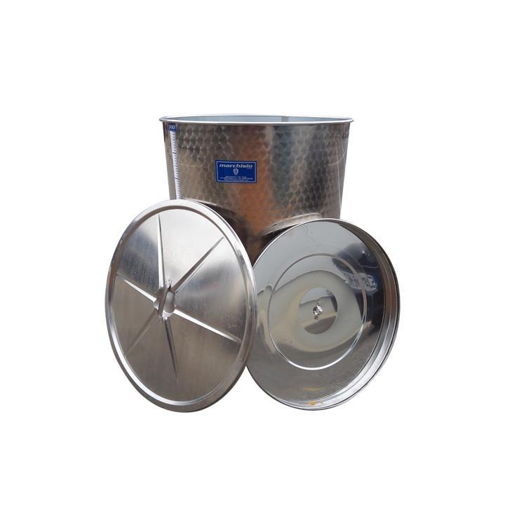 Cisterna din inox cu capac SPO500, 500 litri