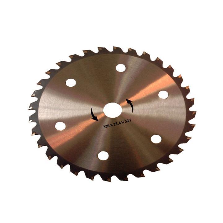 Disc circular cu 32 dinti videa 230 x 25.4 mm